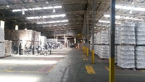 Large industrial space