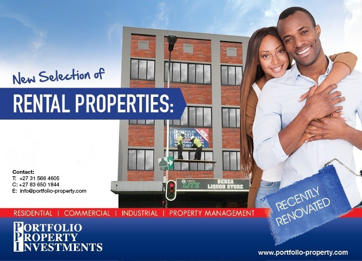 Durban flat to rent in Berea