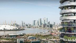 london apartment, canary wharf, for sale