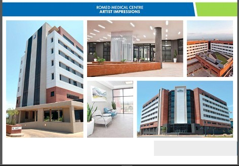 Off Plan Medical Suites , Romed Medical Centr