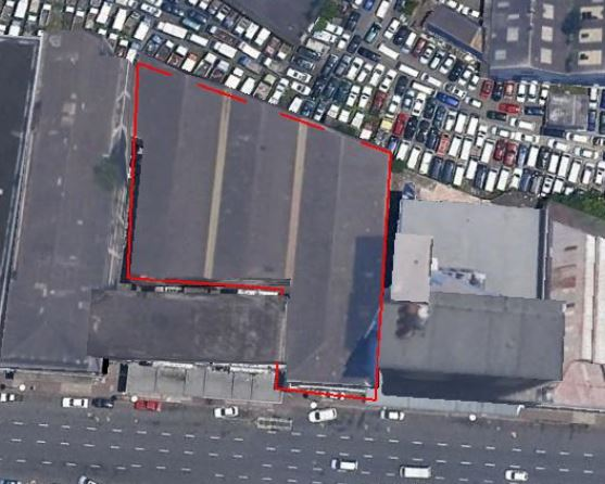Warehouse at Durban Harbout