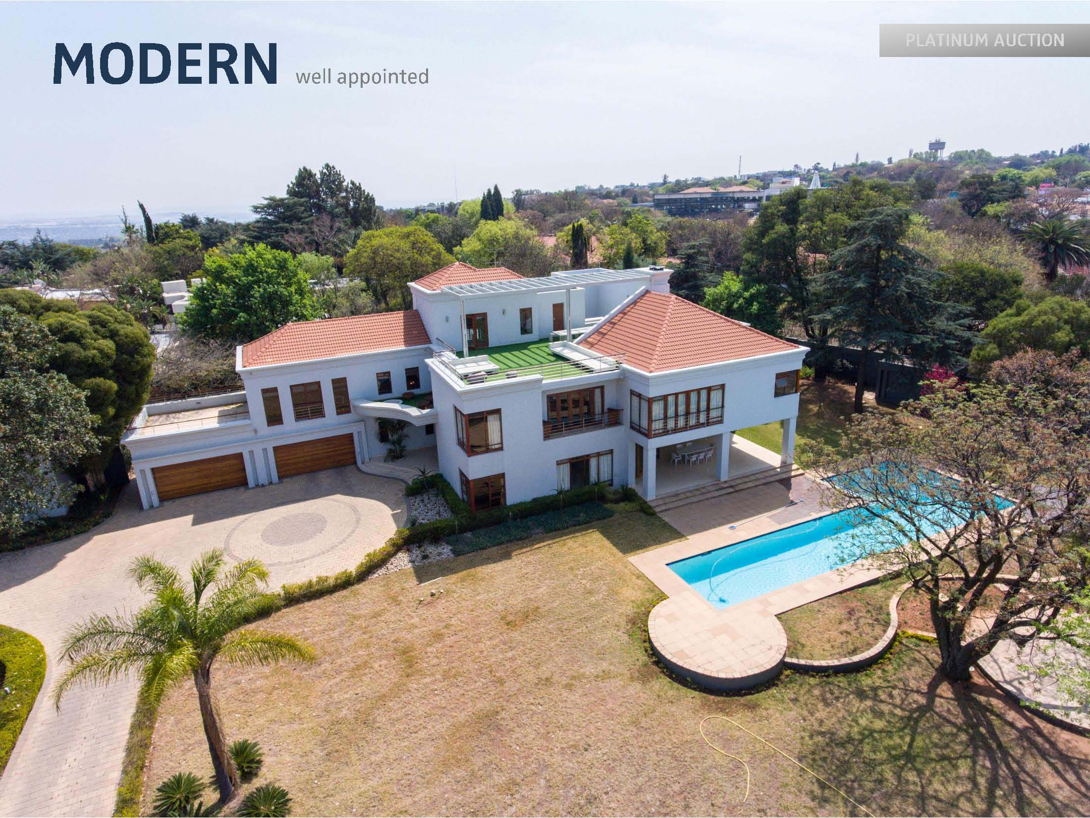 Bryanston Mansion For Sale