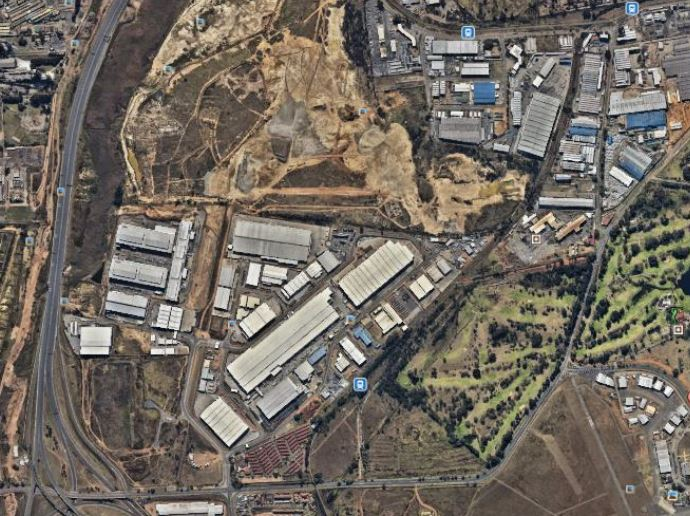 Industrial land for sale Johannesburg