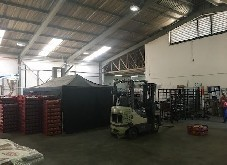 1056m2 Factory, 1000m2 Yard, 400 Amps to let