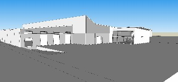 3000m2 + Yard built to spec - Dube Tradeport