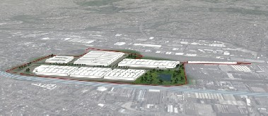 New Warehousing Clairwood Development