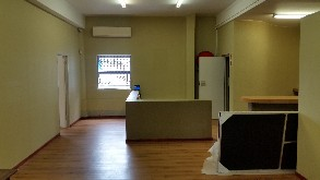 Central Showroom, storage space