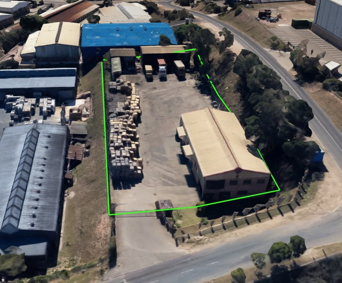 Workshop with yard in westmead to let