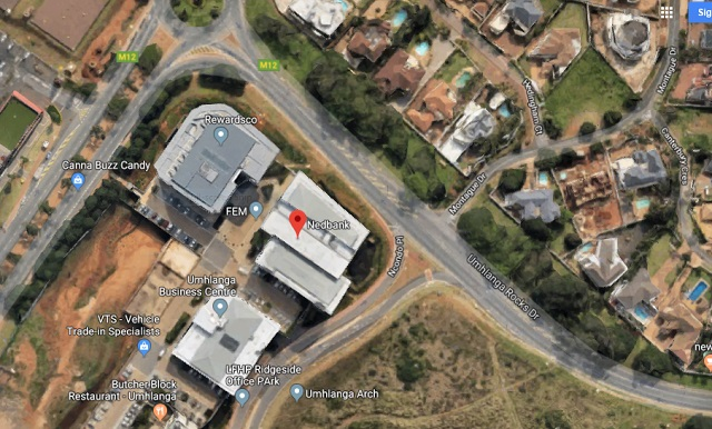 Commercial building to rent Umhlanga