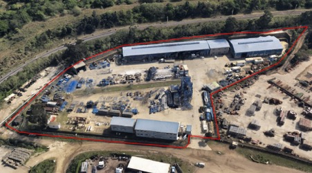 Large Concrete Yard to let in Avoca