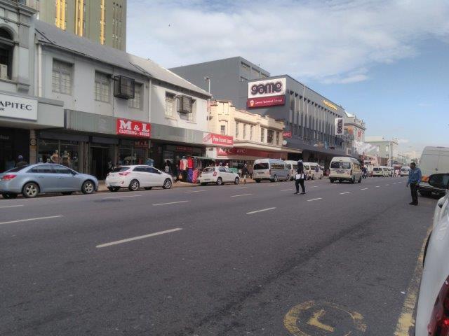 Durban CBD retail to rent