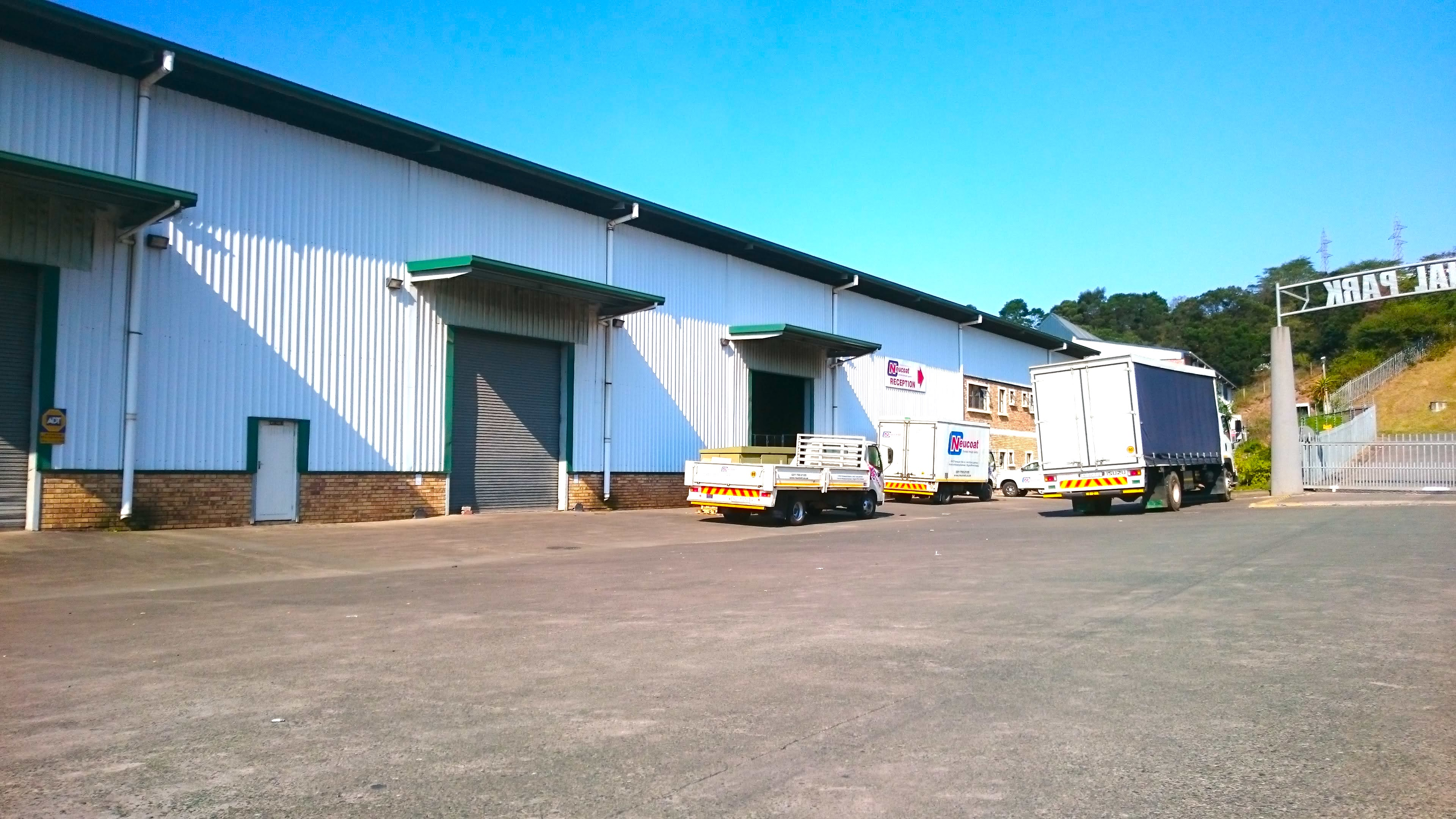 Pinetow to let warehouse