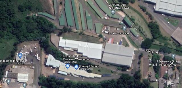 Warehouse rent Pinetown