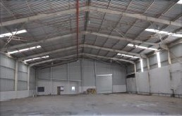 Inside of the warehouse / factory in Cato Ridge